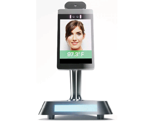 Automated Temperature Screening AI Kiosk