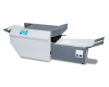 "Available with an 18"" output conveyor to keep processed forms neat and sequential, ready for the mail"