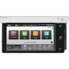 Next generation interface offers large, simple icons and drag-and-drop customization